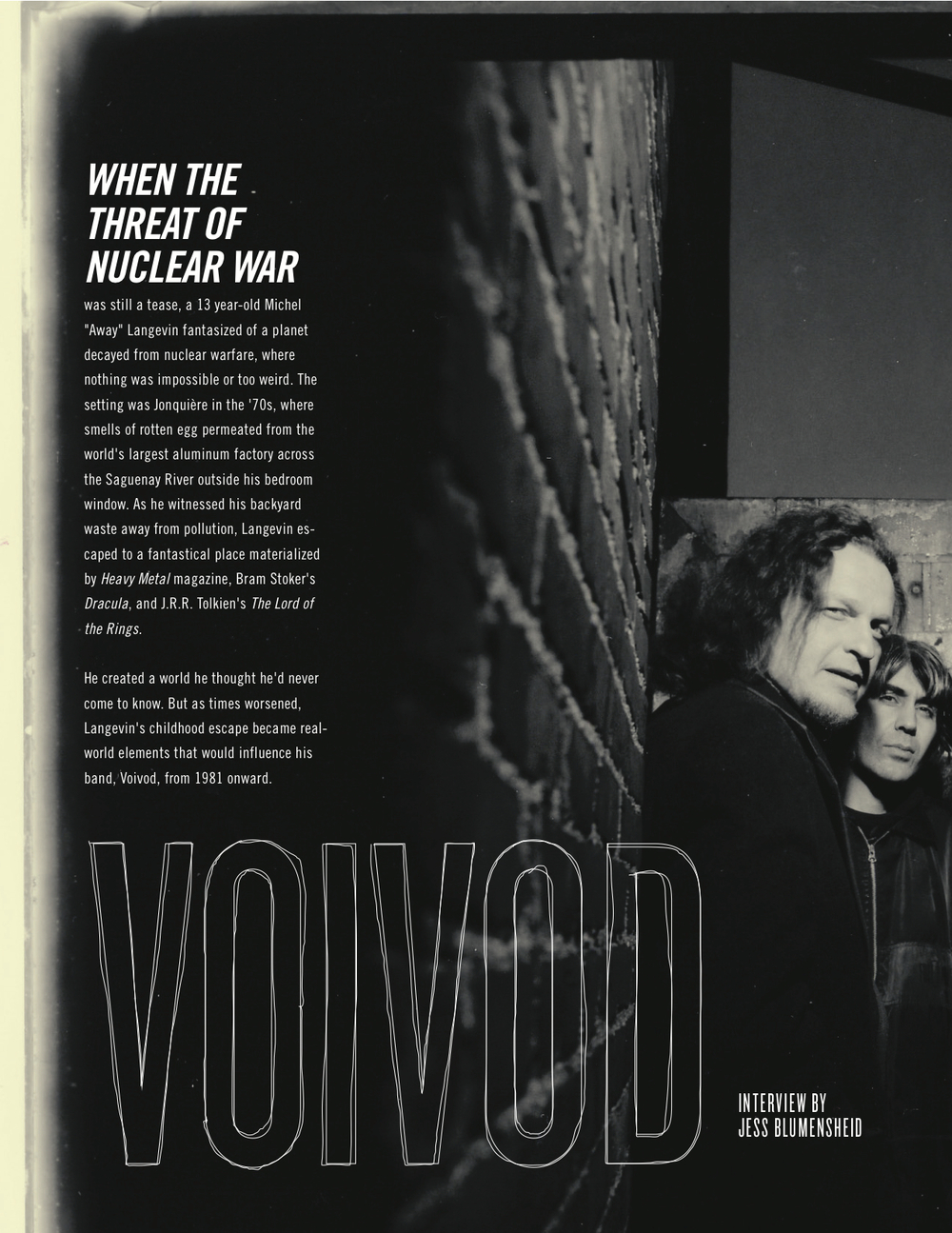 Voivod interview - MDF 2011 program guide
