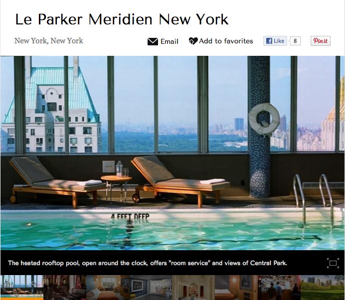 Le Parker Meridien hotel review