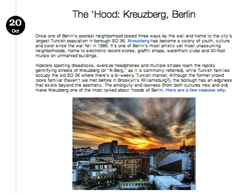 THE 'HOOD: Kreuzberg, Berlin