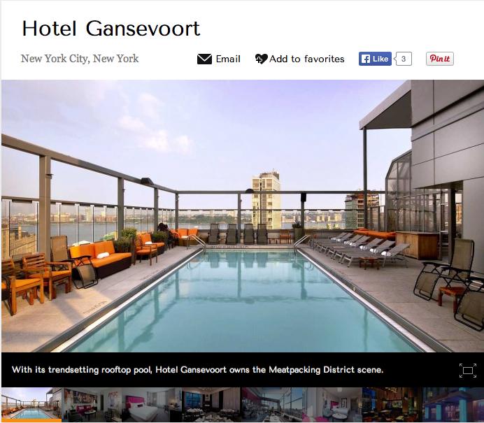 Hotel Gansevoort Review
