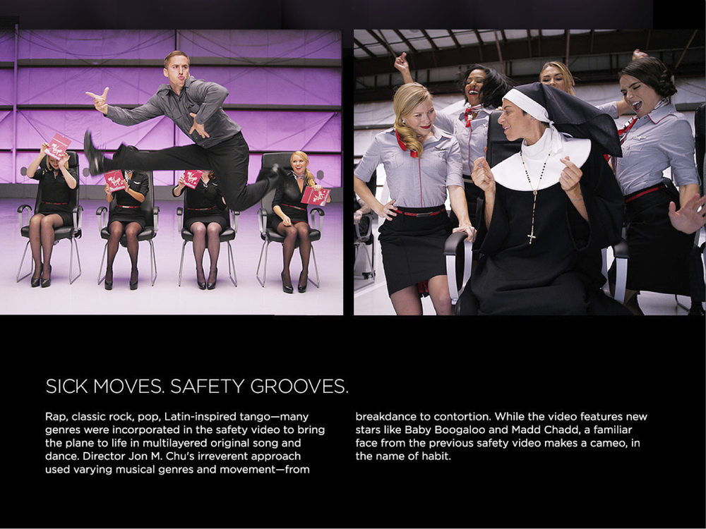 Virgin America Safety Video Launch
