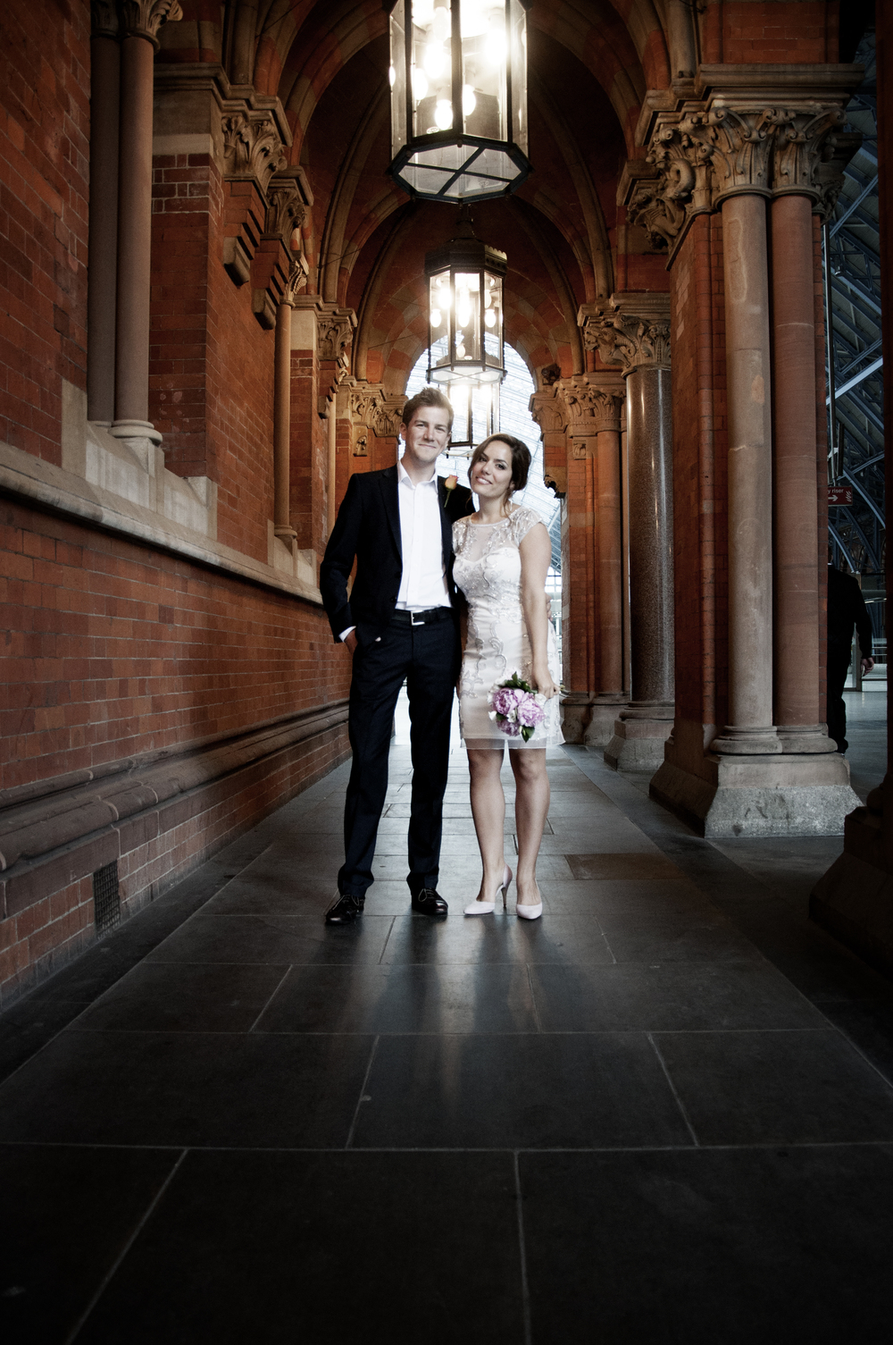 Pre Wedding Venue  - St. Pancras Station