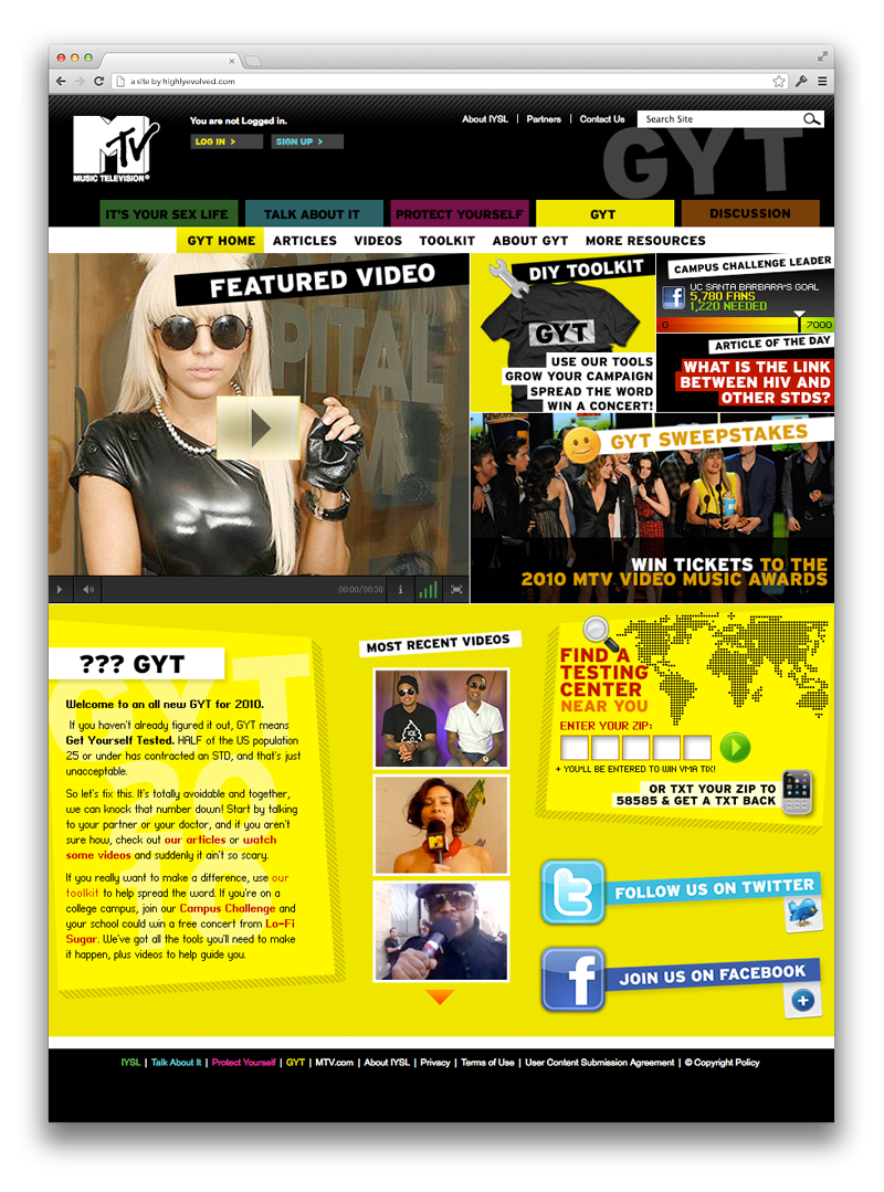 MTV GYT - homepage
