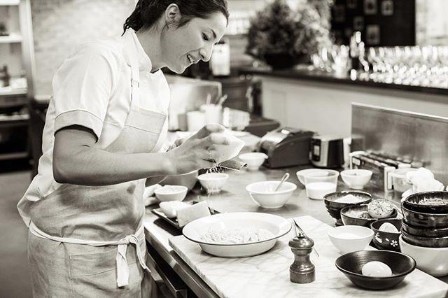 Portrait of a great chef 👩🍳 @minorimichelle