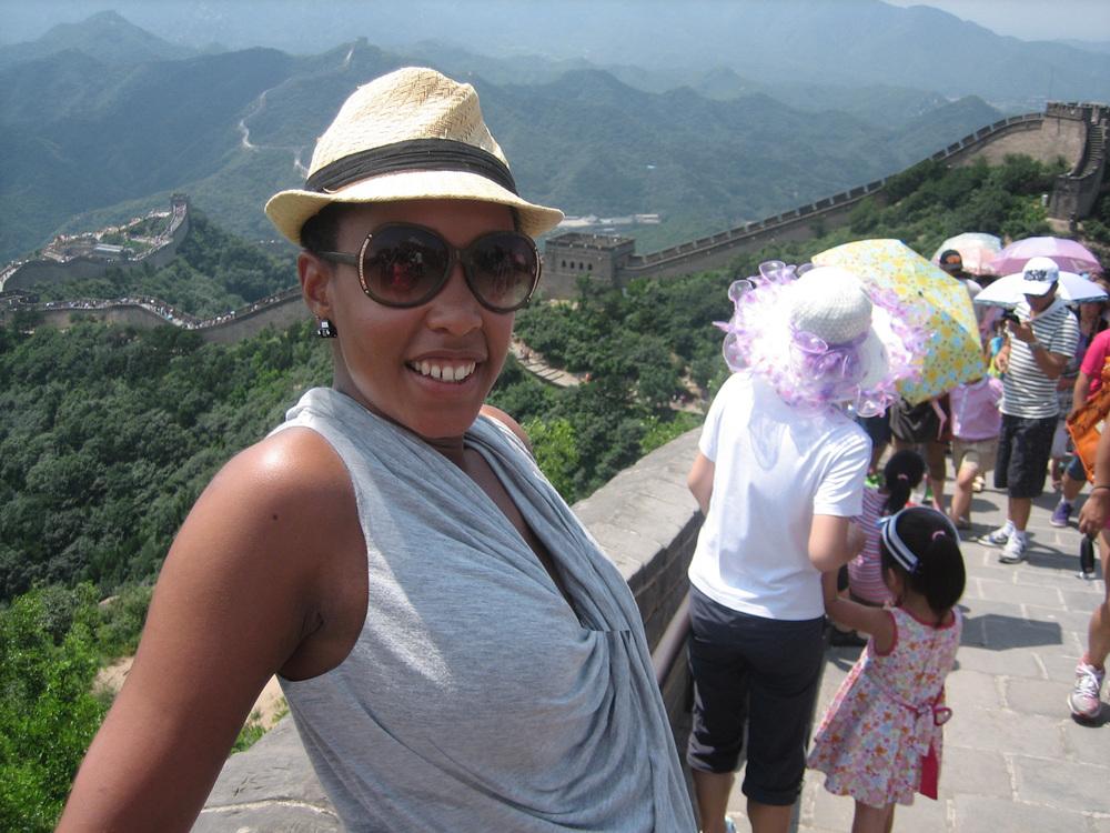I climbed the Great Wall