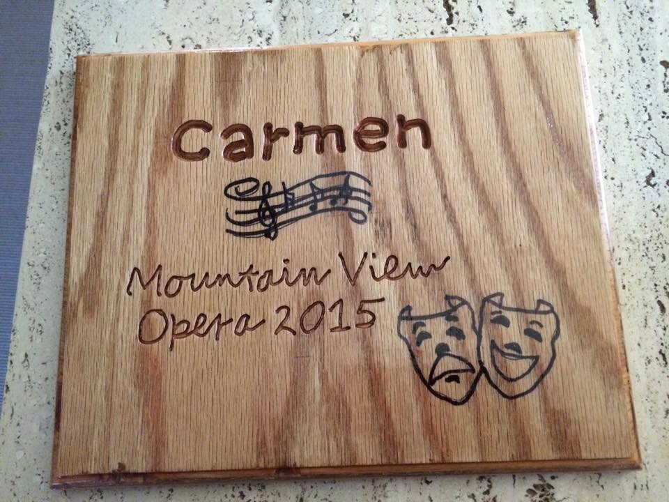 A very special plaque created by the students at Mountain View Youth Development Center thanking us for our performance. My new favorite gift!
