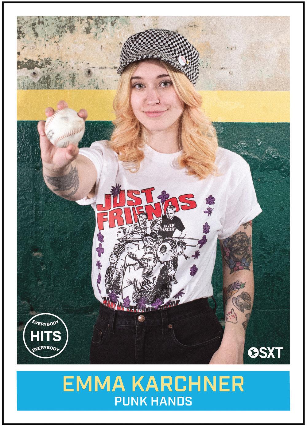Emma Karchner aka Punk Hands