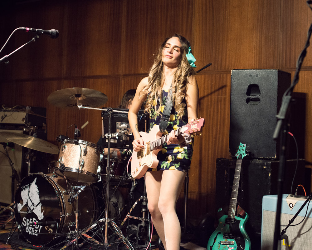 Speedy Ortiz at the First Unitarian Church