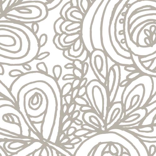 Grey Gardens duvet cover