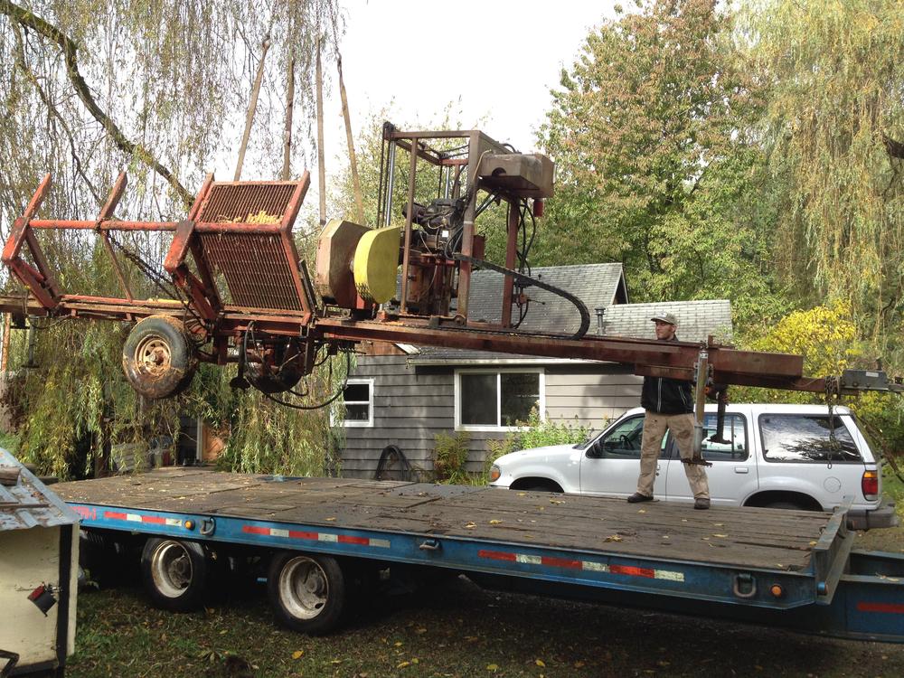 Moving Our Saw Mill to Edison, Washington
