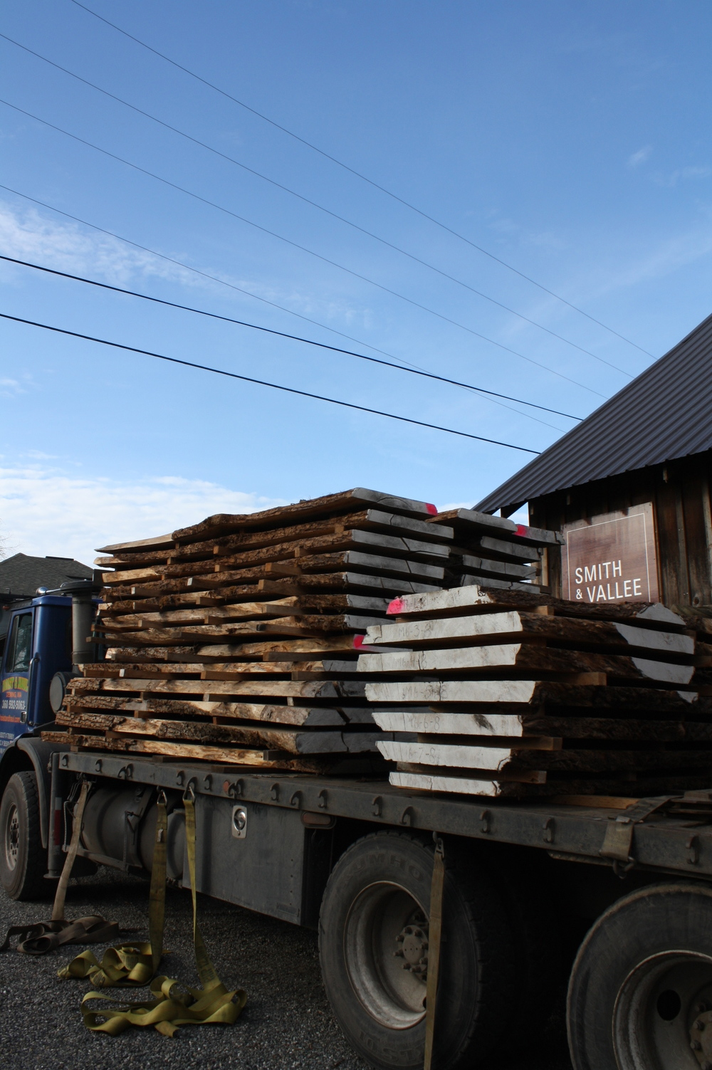 Truck Full of Local Maple Slabs (Available)