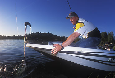 Photo: Bill Siemantel Bill Siemantel says bigger bass can be caught on demand, even in tournament situations.