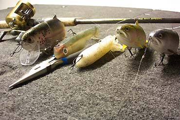 Photo: Bill Siemantel  The BBZ1's unique action, combined with the location of the line-tie (on the nose), make the use of a snap less desirable. This is especially true with fluorocarbon line.