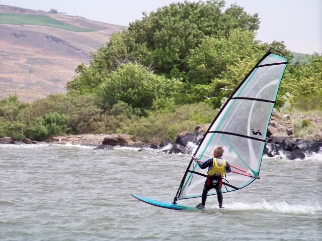 It is good for windsurfing
