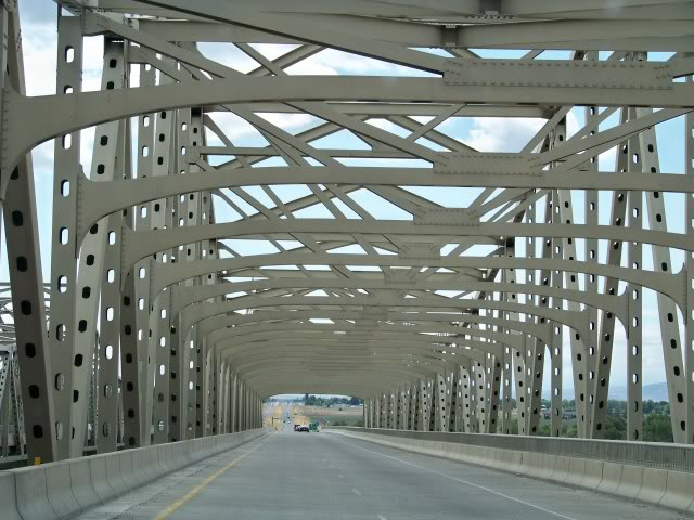 Vaughn Hubbard Bridge spanning the Snake River