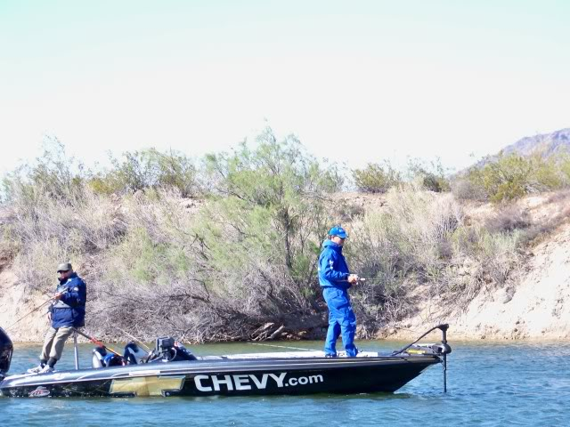 They will let anybody fish in this tournament, STOP following me and STAY OFF my water Jay!