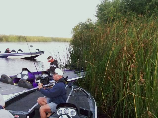 Bobby Barrack legendary Delta angler preparing, I bet you could learn from being around him.