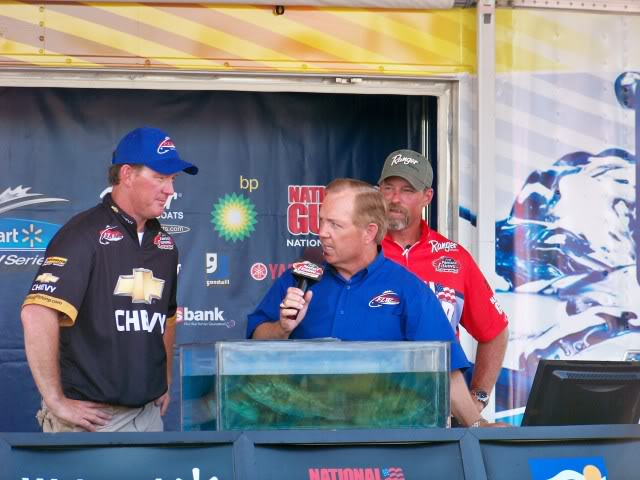 It is between Charlie and Rusty. Before they reveal the outcome the anglers review some of the details.
