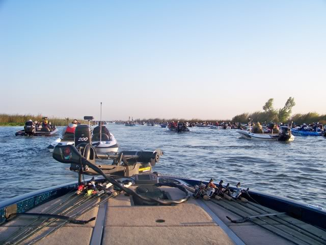 Time to get busy; largest turn out of the season for the Western Stren Series, speaks to the popularity of the Delta