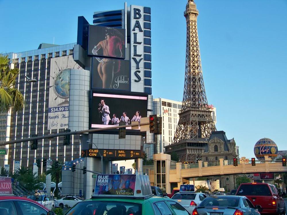 Iconic Las Vegas Blvd.