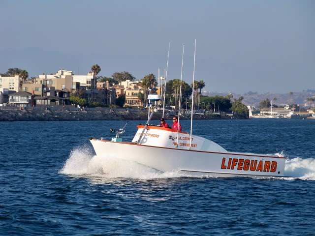 Los Angeles County Lifeguards a division of the L.A. County Fire Department