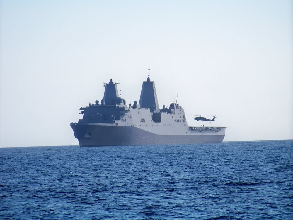 Owned by the U.S. Navy SCI is a ship to shore live firing range.