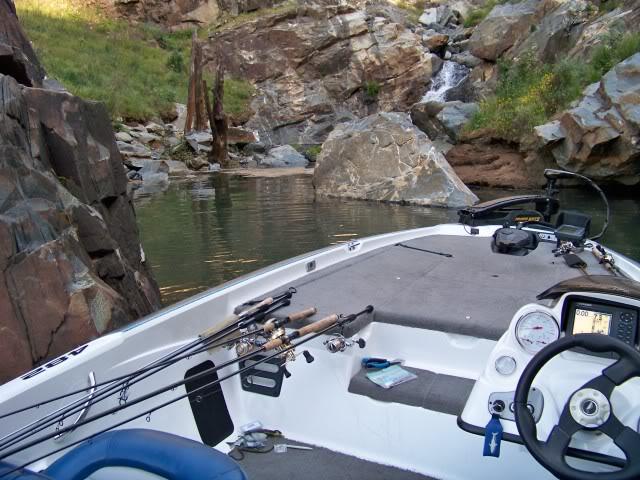 My boat is around the corner