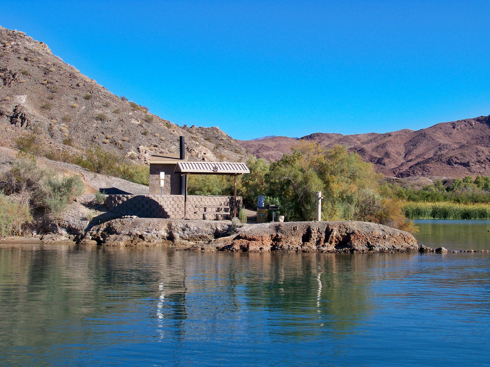 Havasu stands out in many ways including shore line amenities...