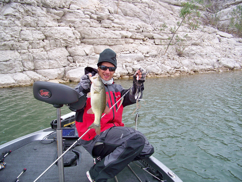 More A-rig fun, even better when it's a largemouth, very cool Troy!