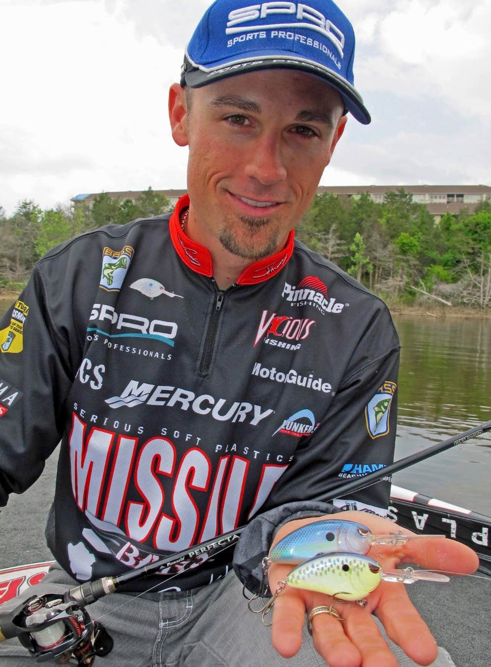 SPRO Pro and Bassmaster Elite Series Angler John Crews.
