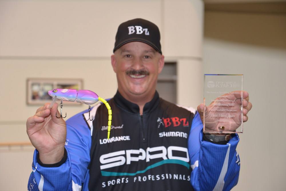 Bill Siemantel and SPRO BBZ-1 Rat. Best of Show ICAST 2014.