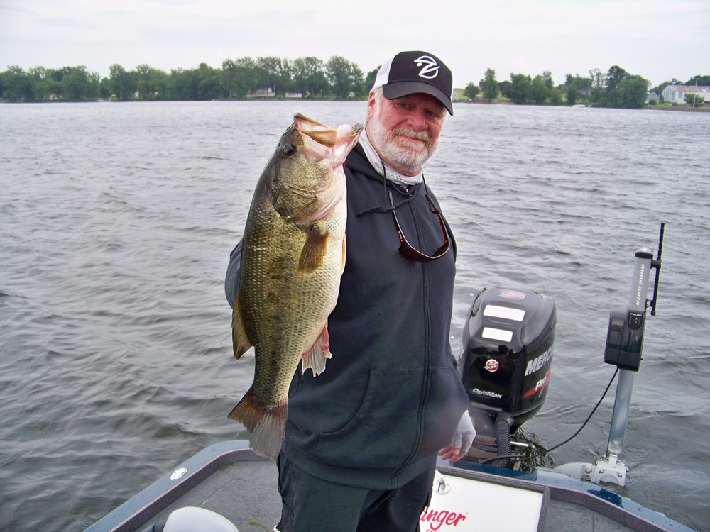 Let's not overlook Largemouth Bass; Champlain has abundant largies, nice one too!