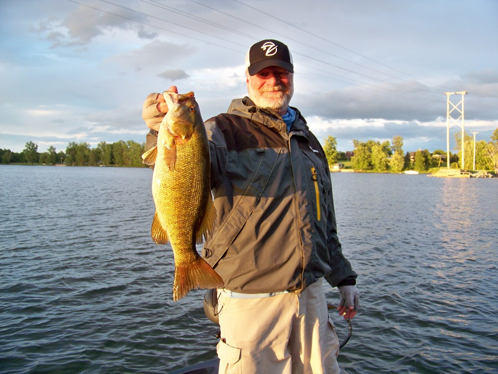 I did mention that smallmouth fishing is outstanding here at Lake Champlain, yes?