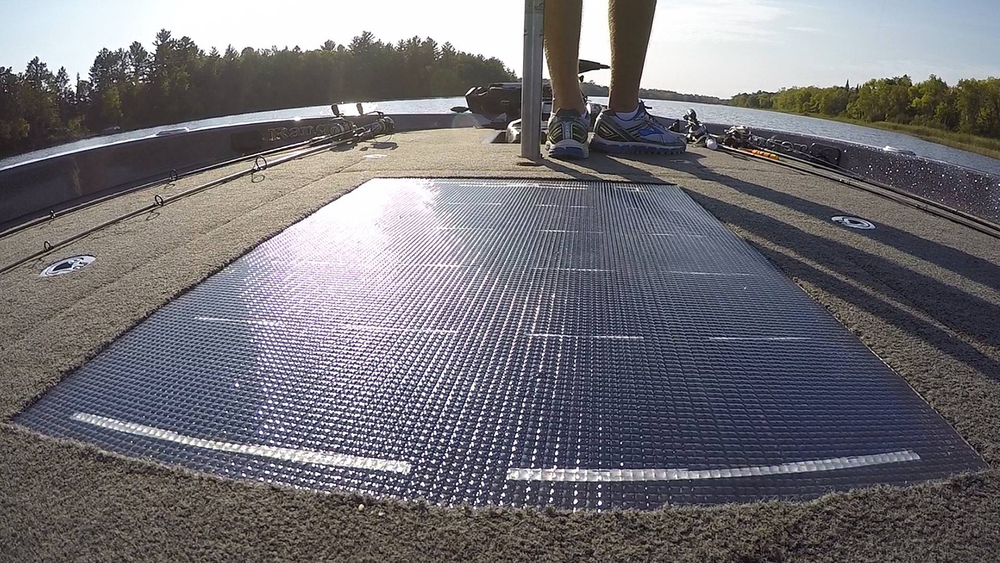 Front Deck Solar Panel*