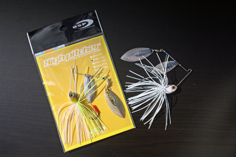 Pic. 7. O.S.P makes some of the best compact profile spinnerbaits. The High Pitcher series spinnerbait is superbly well balanced out of the package, durable and comes fitted with extremely sharp hooks.