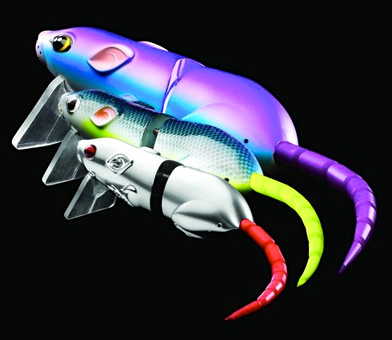 Bill Siemantel Donates SPRO BBZ-1 Rat 50, 40 and 30 lures