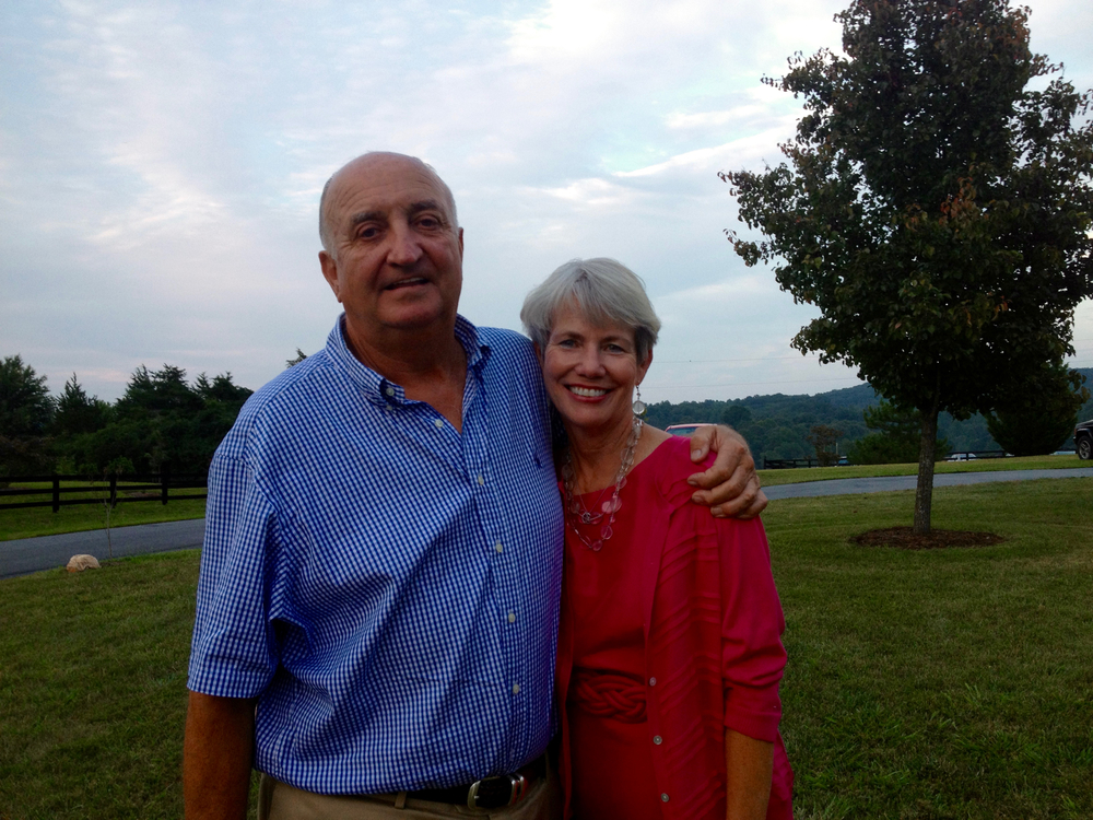 Tommy Hite and his wife Carolyn Hite