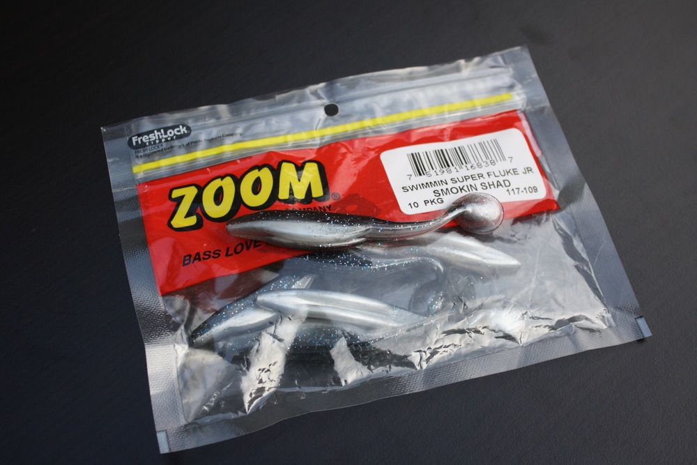 Pic. 7. Zoom Swimmin Super Fluke Jr is extremely durable and an excellent alternative.