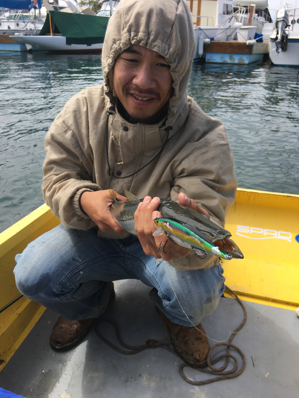 Michael Tran with a legal Barracuda