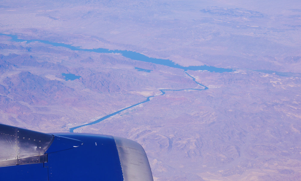 South end of Lake Havasu