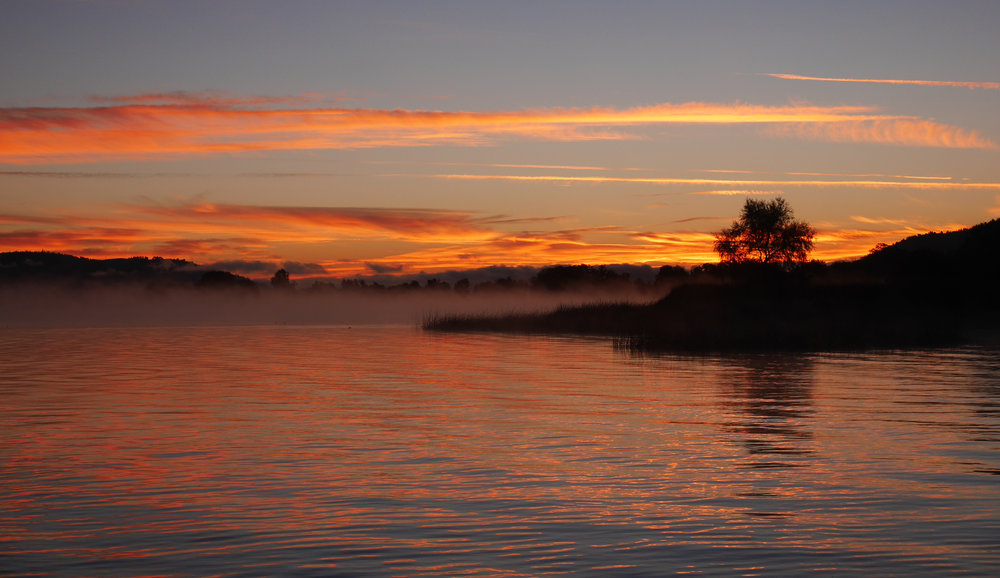 Clear Lake California November Sunrise