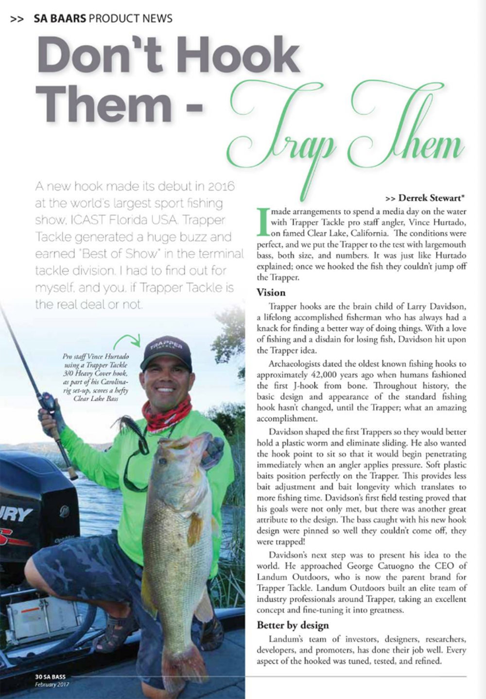 That's Trapper Tackle's Emissary and Expert Angler Vince Hurtado holding a stout Clear Lake California Trapper Catch.