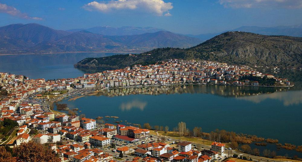 Beautiful, postcard perfect Kastoria on the banks of Lake Orestiada, Photo by DiscoverGreece.com
