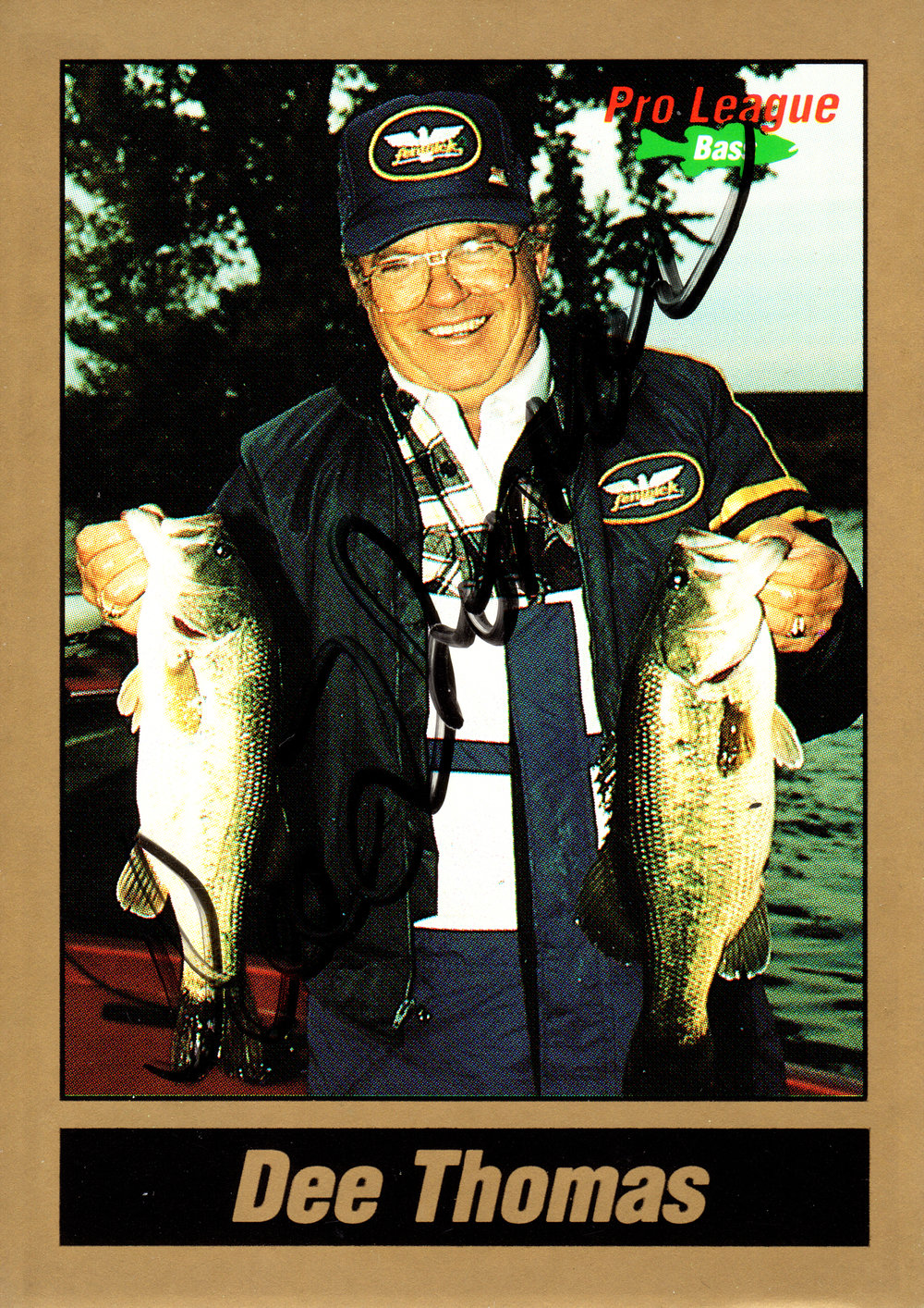 1991 Pro League Bass Trading Card