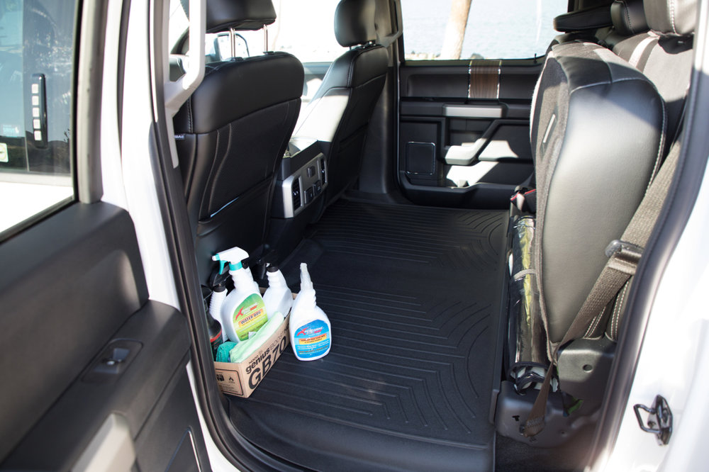 Weather Tex Mats, Peregrine 250 for Boats & Trucks. Keeping it clean.