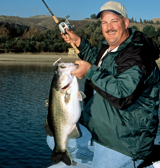 Photo: Bill Siemantel  Bill Siemantel say big bass aren't loners – anglers just think they are.