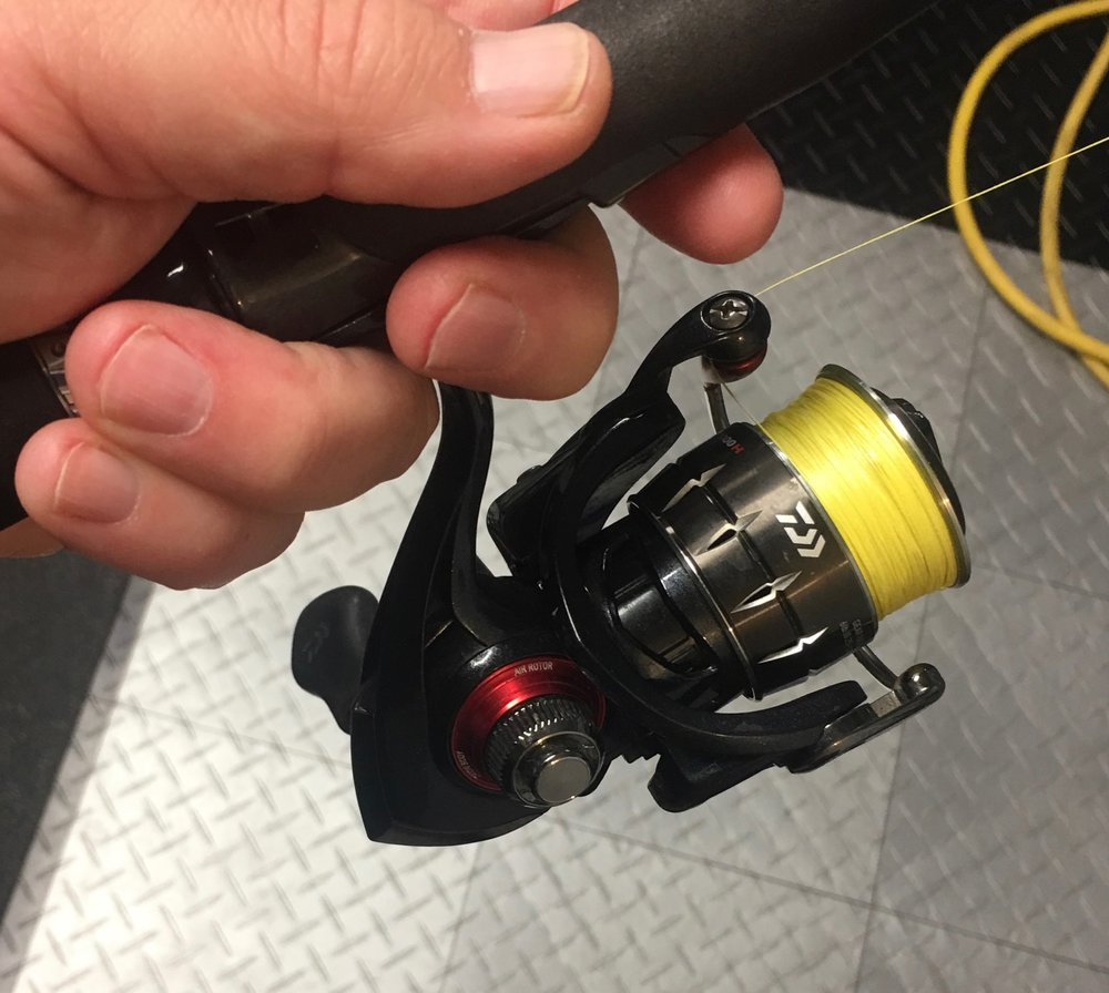 Freshwater reels still needs love but not as often.