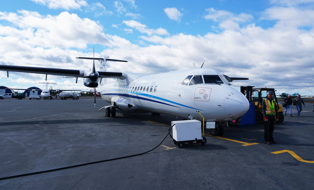 Summit Air, Yellowknife to Great Bear Lake