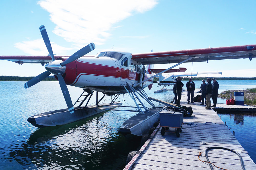 De Havilland GE Turbine Otter float plane soon to depart for the Arctic Circle Outpost.