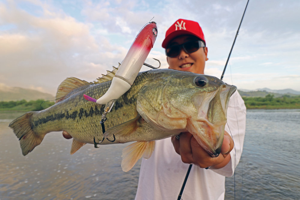 Pic. 4.  My local fixer, Kang is a big fan of the Whopper Plopper 190!